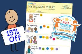 My Big Star Chart Our My Big Star Chart Earns A 2015 Silver Award From