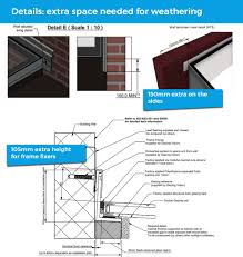imagine you have a single y extension the wall abutment detail allows you to fix directly to the main building above meaning that when you enter the