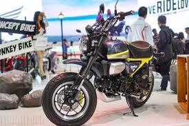 2018 honda monkey. plain 2018 honda monkey 125 concept at 2017 vietnam motorcycle show front three quarter throughout 2018 honda monkey n