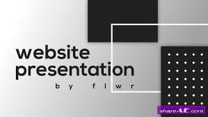 After Effect Presentation Template Free Website Presentation Free After Effects Templates After Effects