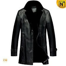 mens leather trench coats cwmalls com