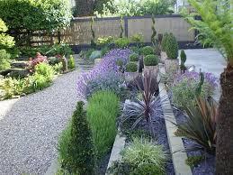 Small Picture small garden design ideas terrace flower beds gravel sculptured