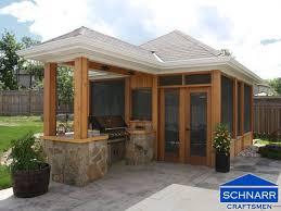 screened gazebo patio