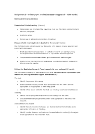 Qualitative Research Paper Education Resume Writing Tips Sample
