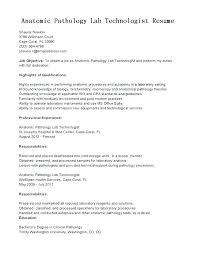 Medical Lab Technician Resume New Medical Lab Tech Resume Sample Professional Resume