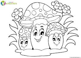 25 Nieuw Herfst Paddestoel Kleurplaat Mandala Kleurplaat Voor Kinderen
