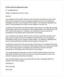 cover letter for entry level software developer best solutions of sample job application letter for software