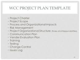 Project Scope Management Plan Template College Paper Help ...