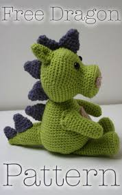 Free Crochet Dragon Pattern