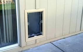 wall mounted doggie door pet door gallery pet doors a pet doors in wood vinyl siding wall mounted doggie door