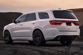 2018 dodge durango interior. plain 2018 2018 dodge durango srt rear quarter left photo with dodge durango interior