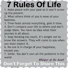 Wise Quote About Life Beauteous Rules Of Life Life Quotes Quotes Quote Life Wise Advice Wisdom Life