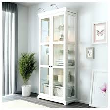 display cabinets with glass doors white china cabinet with glass doors medium size of glass display
