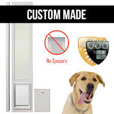 low e glass dual pane door vinyl dog