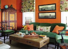 Orange Living Room Curtains Unique Orange Living Room Ideas For Sweet Home Gallery Gallery