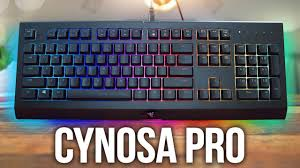 <b>Razer Cynosa</b> Chroma <b>Pro</b> Keyboard Review! - YouTube