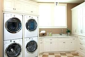 stacked washer dryer cabinet post stacked washer dryer closet size