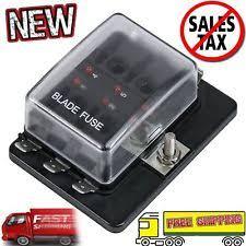 fuse block ebay fuse block autozone at Automotive Fuse Box