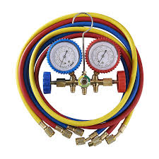 air conditioning tools and equipment. orion motor tech 5ft ac diagnostic manifold freon gauge set for r12, r22, r502 refrigerants, without couplers air conditioning tools and equipment r