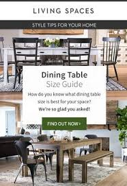 dining table size guide dining table sizesdining roomsyour