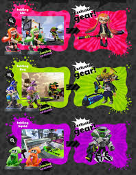 Upcoming Splatoon Amiibo Repaints To Function In The Same