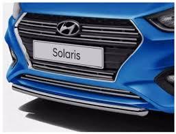<b>Защита переднего бампера R8630H5100</b> для Hyundai Solaris 2017-