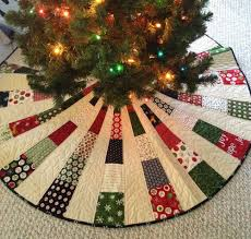Quilted Christmas Tree Skirt Pattern Best Design Inspiration