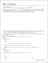 Free Motor Vehicle Bill Of Sale Sample Bill Of Sale Template