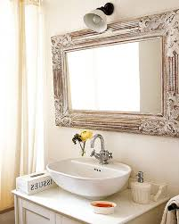 Apply unique bathroom mirrors as a first step in providing a