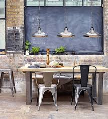 Industrial Style Dining Room Lighting Industrial Style Dining Room