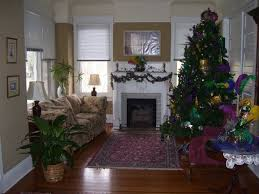 decorating with mardi gras beads skirting the issue