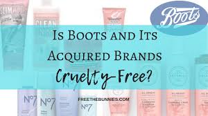 Boots Botanics Hair Colour Chart Boots Cruelty Free Status And Its Acquired Brands Free The