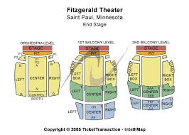 Fitzgerald Theater Seating Chart Cheap Fitzgerald Theater Tickets