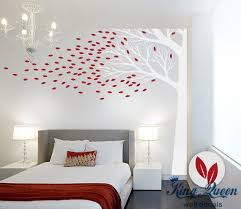 corner tree wall decal vinyl wall art large wall sticker for bedroom living room home on large wall art for bedroom with corner tree wall decal vinyl wall art large wall sticker for bedroom