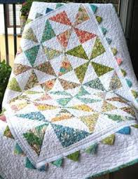 this quilt is for a customer who requested one after seeing ... & Quilting: Pinwheel and Prairie Point Baby Quilt on Craftsy Adamdwight.com