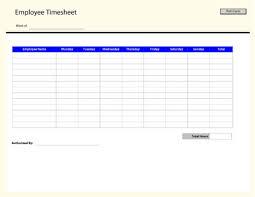 Payroll Timesheet Calculator Magnificent Employee Time Sheet Template