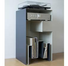 turntable furniture. Design Vinyl / Turntable Furniture Full Steal By Gaelle Pinel Meuble Pour Vinyles De