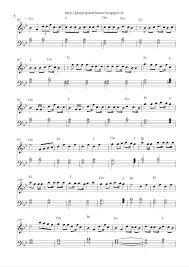 7 years old sheet music play popular music april 2016