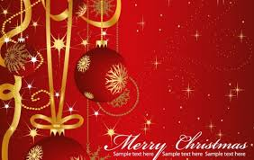 Vector Christmas Greeting Cards Vector Free Download