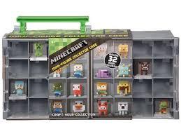 Case Piccole Minecraft : Minecraft mini figure collector case accessories