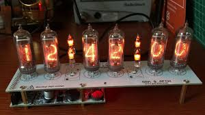 Nixie Tube clock kit from GRA & AFCH