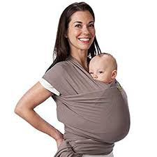 Amazon.com : Boba Baby Wrap Carrier, Grey - The Original Child and ...