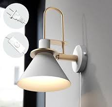 Vintage style lighting fixtures Industrial Style Kiven Macaron Horn Wall Lamp Indoor Creative Loft Style Lighting Vintage Style Wall Sconces Ul Plugin Button Cord Bulbs Not Included Kiven Lighting Kiven Lighting Kiven Macaron Horn Wall Lamp Indoor Creative Loft Style Lighting