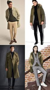the best men s fashion trends for winter 2017 moss green colours
