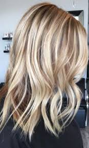 Beige And Honey Blonde Highlights Colour