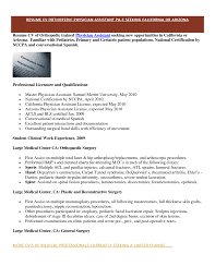 Agreeable Orthopedic Surgeonsume For Your Of Example Templates