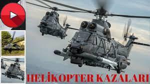 Helikopter Kazası l Bitlis Tatvan Helikopter Kazası l Cougar Helikopterin  Daha Önceki Kazaları - YouTube