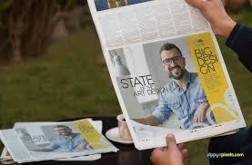 13 HD Newspaper PSD Mockups for Advertising | ZippyPixels