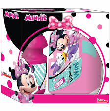 Disney Minnie Mouse Set Lunchbox Drinkfles Merchandise Fever