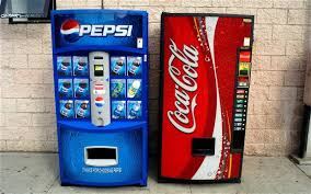 Pepsi Cola Vending Machines Extraordinary CocaCola And Pepsi Change Recipe Telegraph